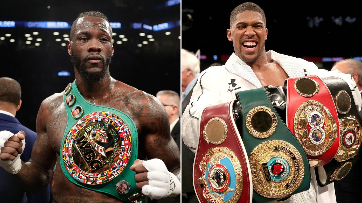 Deontay Wilder agrees to terms to fight Anthony Joshua in heavyweight title fight
