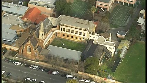 It is believed the girls in the alleged incident knew each other. Picture: 9NEWS