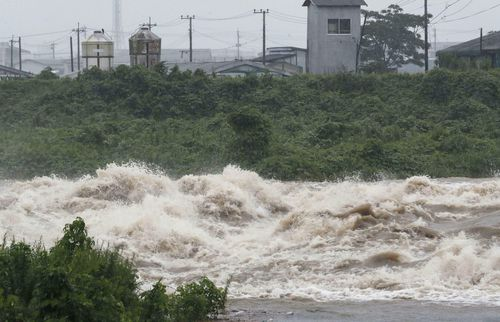 There are fears the rain may cause heavy flooding and landslides across the region.