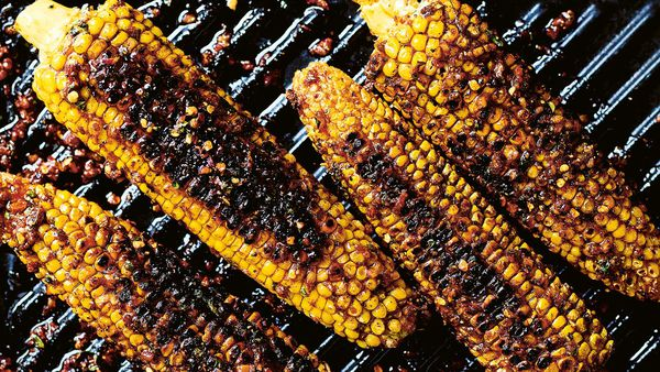 Luke Hines' Cajun corn on the cob