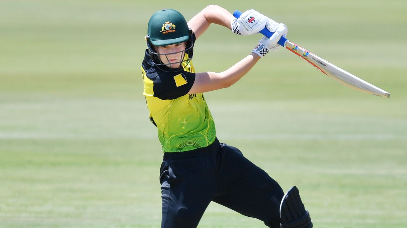 The teenager set to become Australia's next cricket superstar