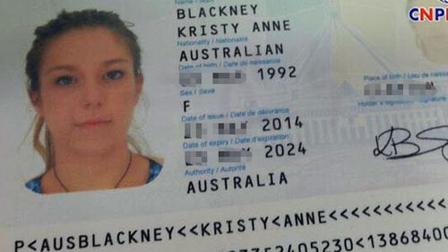 Kristy Anne Blackney, an Australian tourist, was found dead in the Kampot River.