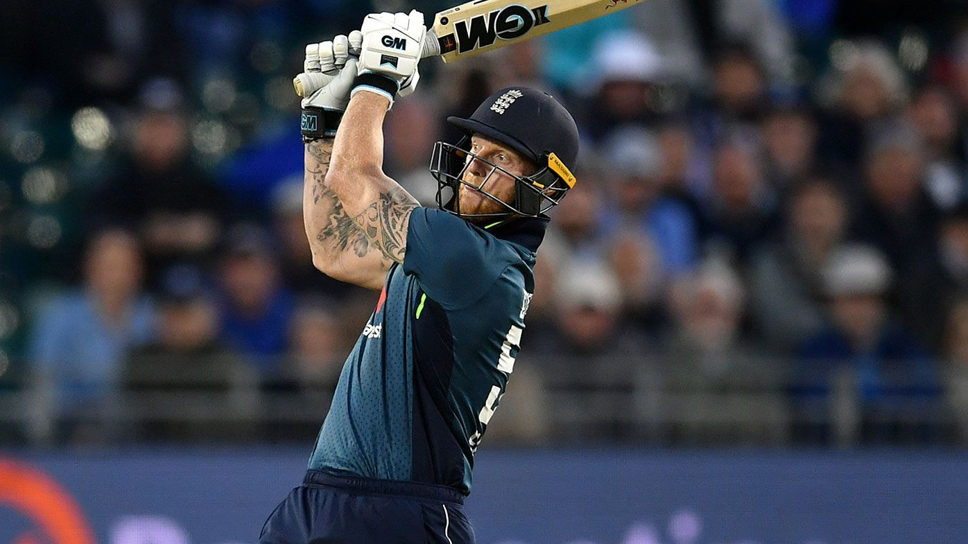 Ben Stokes was dismissed in freakish fashion against Pakistan.