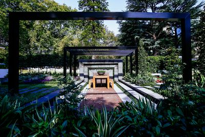 Gold Show Garden