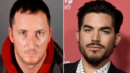 Benjamin Ackerman, left, has been arrested in Los Angeles over the burglaries at homes of celebrities including actor Adam Lambert.