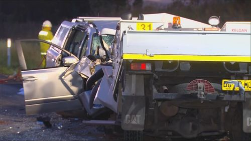 Three people have died, and another man is fighting for life after a head-on crash in NSW's Upper Hunter Region.