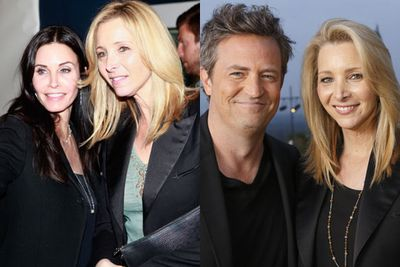 While a group <i>Friends</i> reunion is still yet to be held, various members of the cast still catch up every now and then. Here's Courteney Cox (Monica) and Lisa Kudrow (Phoebe) at an LA art show in April 2013; Lisa Kudrow and Matthew Perry (Chandler) guest-hosted <i>Piers Morgan Live</i> in July 2013.