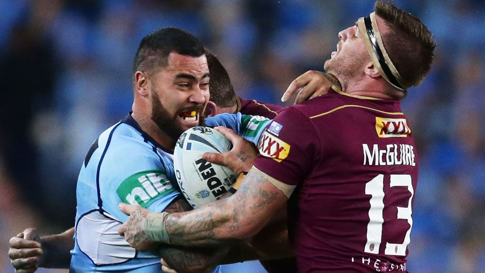 Andrew Fifita yet to declare allegiance to NSW State of Origin team