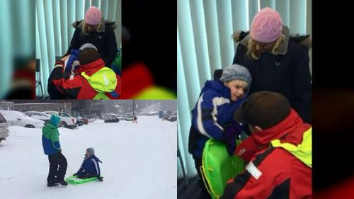 Young boy found on Falls Creek after disappearing in icy conditions