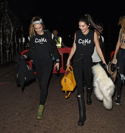 <p>Cara Delevingne and Kendall Jenner</p>