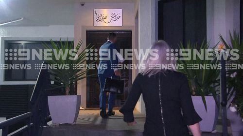 190521 Salim Mehajer released from jail returns home Sydney Lidcombe crime news NSW Australia