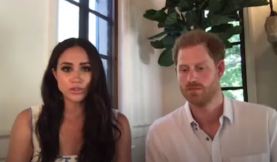 Meghan joined Harry in her commitment to serving the Commonwealth.