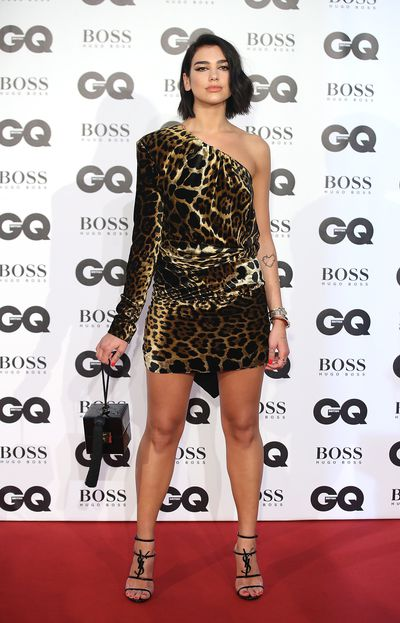 Dua Lipa at the 2018 GQ Men of the Year Awards