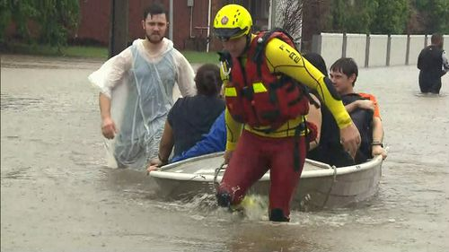 More than 400 homes have been inundated by floodwaters.