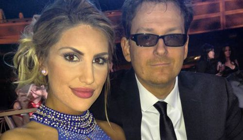 August Ames and her husband, who has blamed her death on cyber bullying.