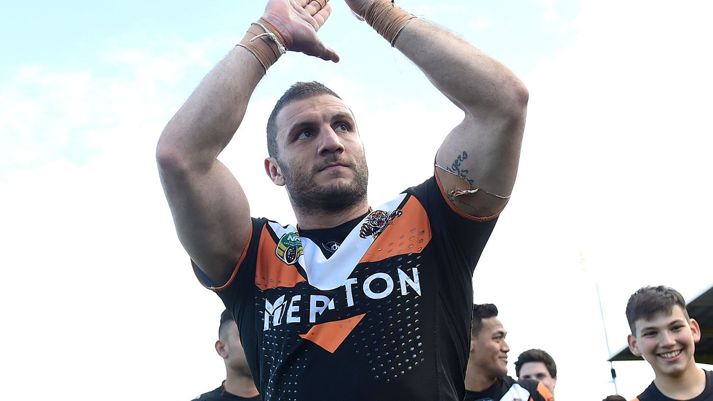 Robbie Farah rejoins Wests Tigers after being released by South Sydney Rabbitohs