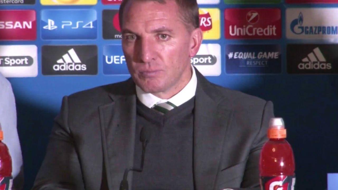 Celtic manager slams pitch invader