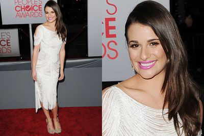 Lea Michele, flapper style.