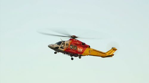 A Westpac Surf Rescue Helicopter was deployed to search the area.