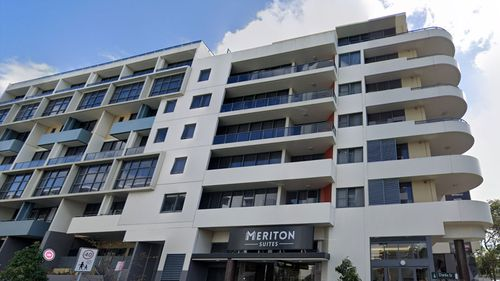Anyone who was at the Meriton Suites in Waterloo between 7pm on Saturday and 8am this morning must get tested for COVID-19.
