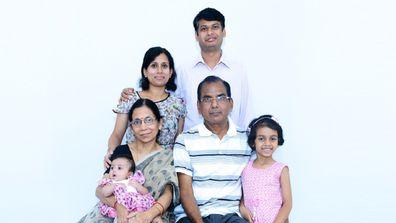 Lipi her own family pics