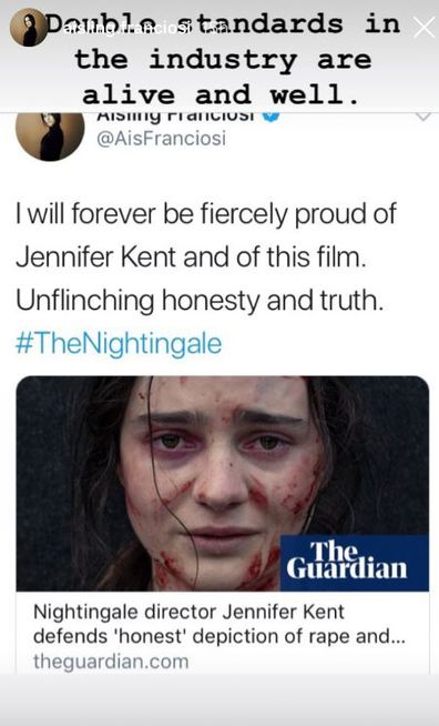 Aisling Franciosi on The Nightingale