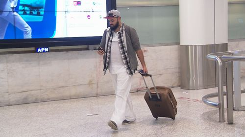 Former terror suspect and convicted criminal Zaky Mallah has arrived back in Australia after he was detained after flying to Singapore. (9NEWS)