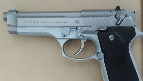 Police found firearms at the Bankstown home as well, one of which is reportedly stolen.