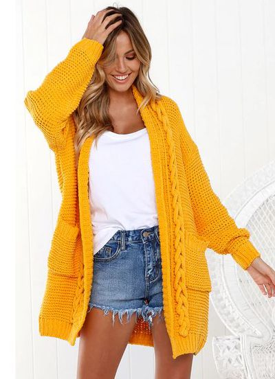 "<a href=""https://littlelace.co/maddox-knit-cardigan-canary-yellow/"" target=""_blank"" title=""Little Lace MaddoxKnit Cardigan"" draggable=""false"">Little Lace Maddox Knit Cardigan</a>, $50<br>"