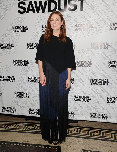 <p>Julianne Moore gave birth at 41.</p> <p>Actress Julianne Moore had daughter Liv Helen in 2002 with husband Bart Freundlich. Their first child, Caleb, was born in 1997.</p>