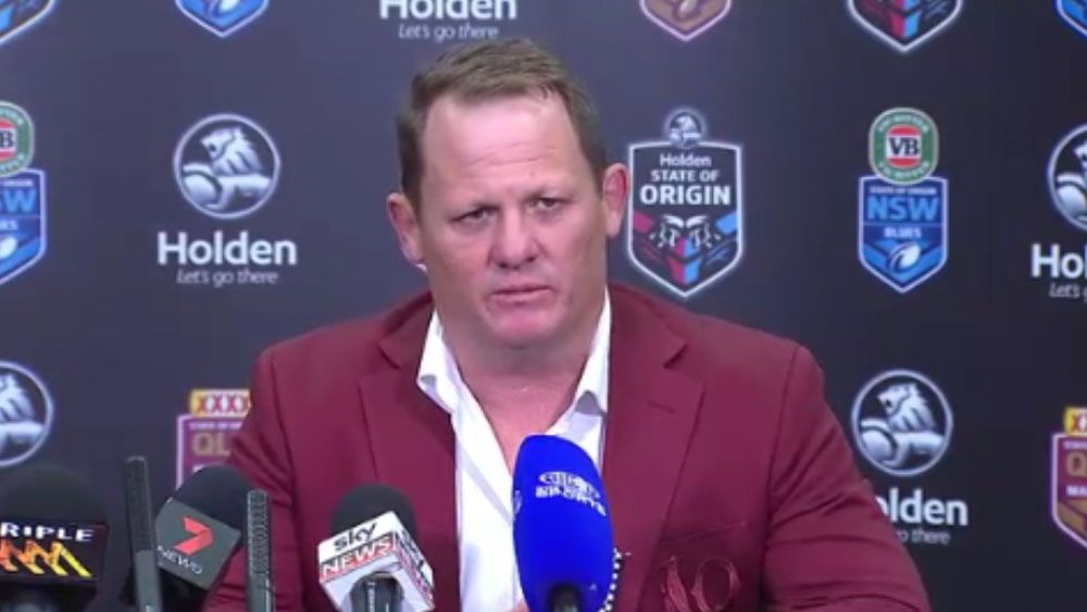 Queensland coach Kevin Walters unsure whether Johnathan Thurston and Billy Slater will return for State of Origin two