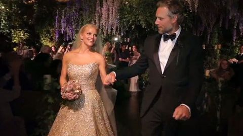 Drunk dancing and PDAs: Jessica Simpson\'s wedding footage is awesome ...
