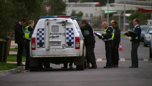 A 69-year-old woman's body was found inside with stab wounds. Picture: 9NEWS
