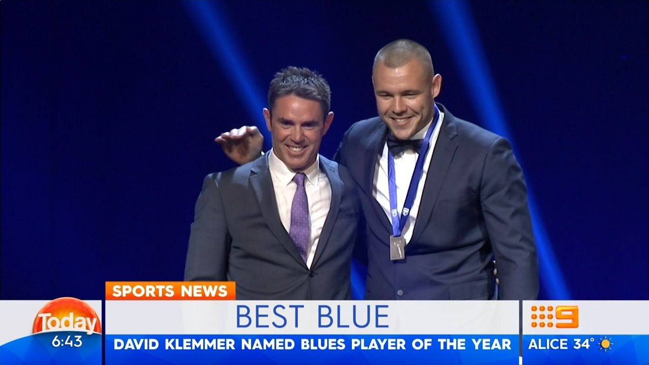 Klemmer crowned Blues' best player