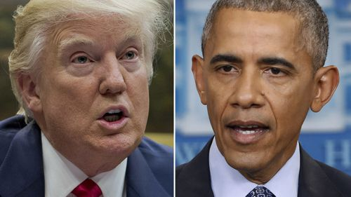 Trump accuses Obama of hacking collusion