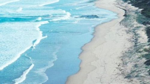Parsons Beach in South Australia.
