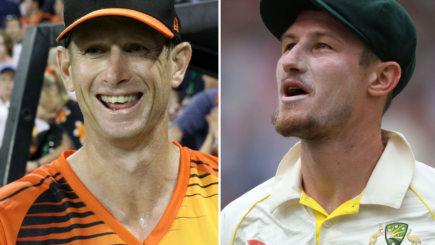 Adam Voges and Cam Bancroft