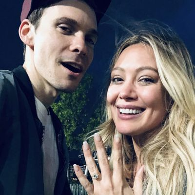 ff5542f1b0 Celebrity engagement rings  Photos