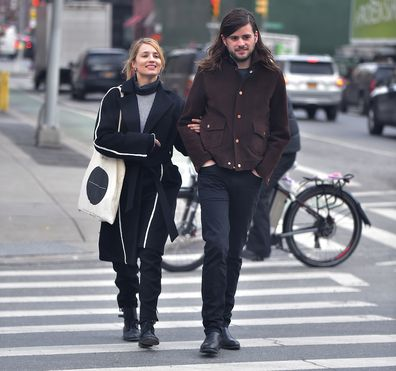 Dianna Agron, Winston Marshall in 2017, Soho, New York