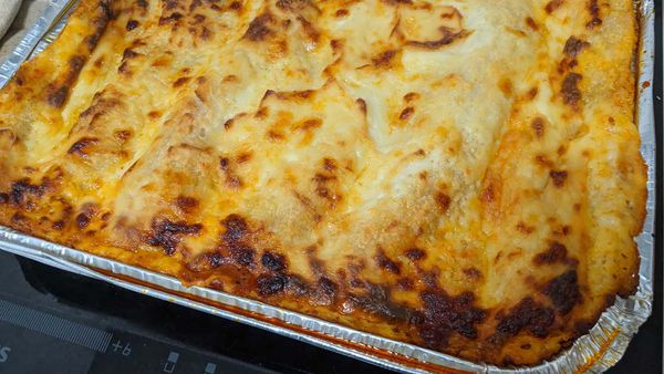 The best lasagna in the frozen isle