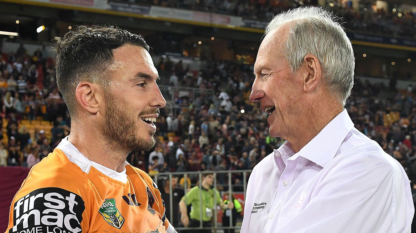 Wayne Bennett and Darius Boyd