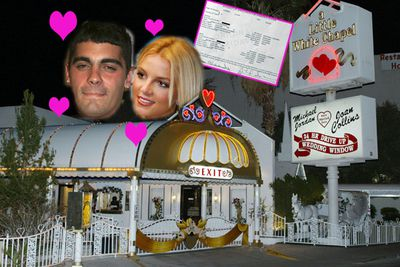 The wedding she'll never be able to live down. In January 2004 Britney married her childhood friend, Jason Alexander...filing for divorce only 55 hours later!