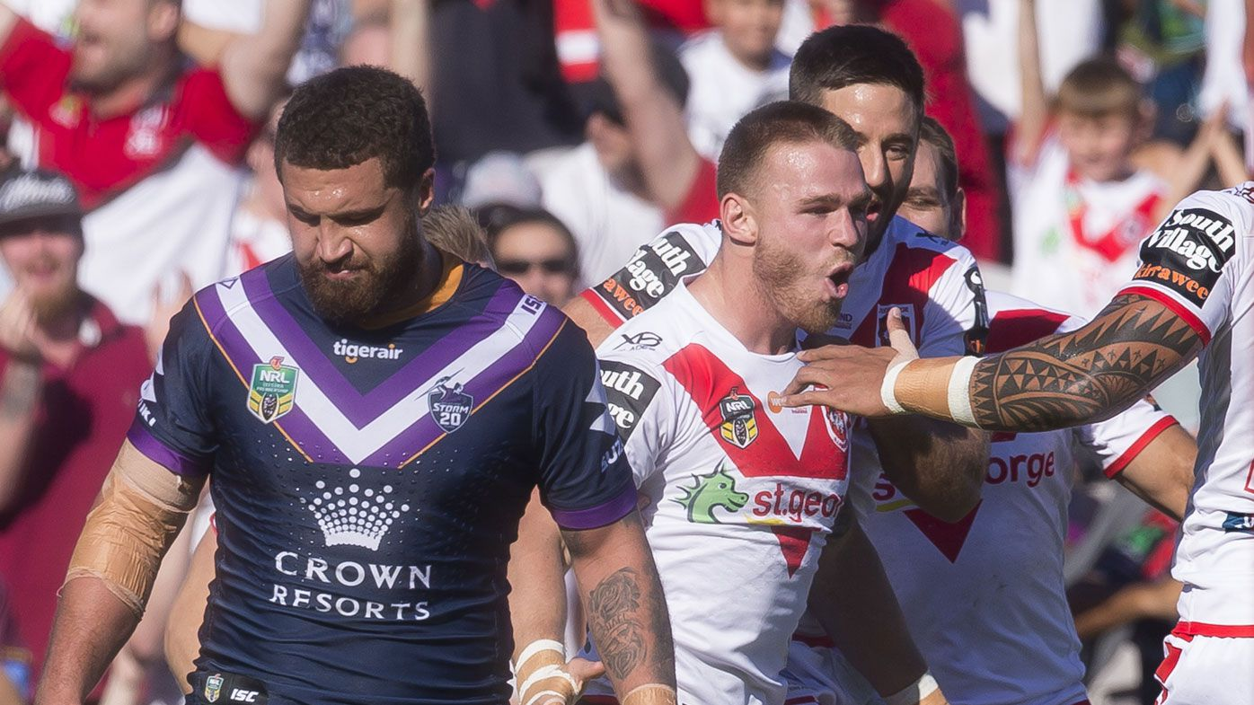 Dragons show NRL bona fides with Storm win