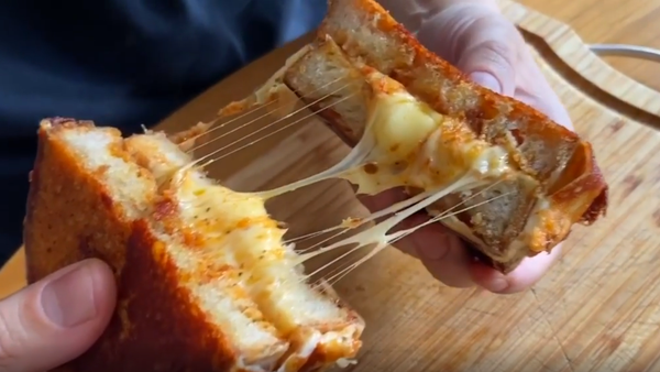 Grilled cheese toastie recipe