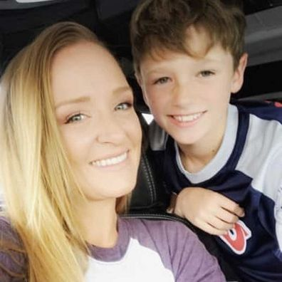 Maci Bookout and her son Bentley.