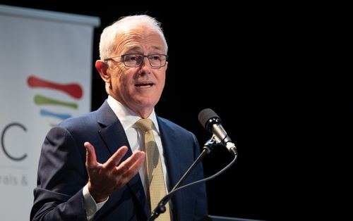 The votes are crucial for Prime Minister Malcolm Turnbull who will look to boost his government's majority in the Federal Parliament. Picture: AAP.