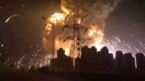 Death toll from Tianjin port explosions rises to 129