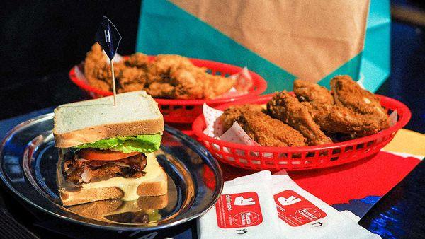 Huxta Chicken and Deliveroo