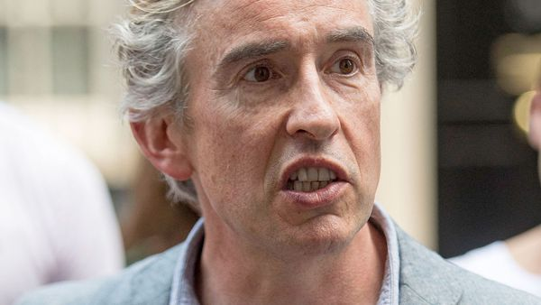 A file photograph of British actor Steve Coogan. (AAP)