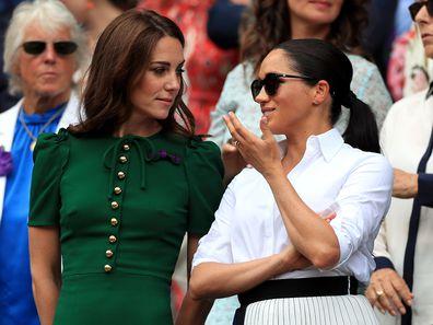 Meghan and Kate's body language at Wimbledon